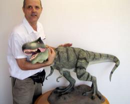 Wild Tryranosaurs Rex Dinosaur 1.2 Meters Length