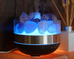 Treasures Amethyst Diffuser/Humidifier - Polished Stones