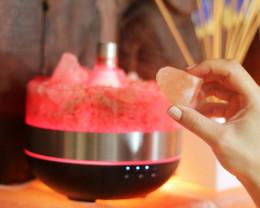 Treasures Himalayan Salt Diffuser/Humidifier - Rough Stones