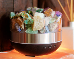Treasures Mixed Rocks Diffuser/Humidifier - Rough Rocks Stones