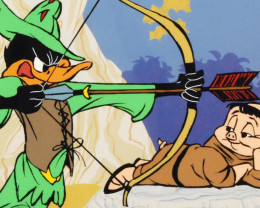 Robin Hood: Bow & Error- limited edition animation cel