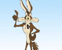 Wile E. Coyote. Disney . Limited Edition Sericel from Warner Bros..
