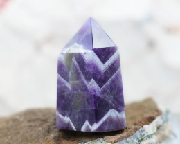 160 Cts Terminated Point Amethyst crocidile Generator CF 443