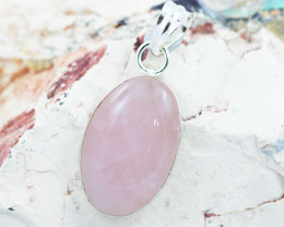 Lovers Rose Quartz  Pendant CF 471