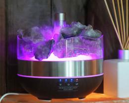 Treasures Amethyst Diffuser/Humidifier - Geodes Stones