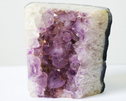 2.65kg Natural Amethyst Lamp - double side polished CF 517