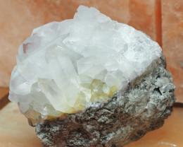 2.3 Kilo Crystal Rock terminated Points Specimen  CF 523