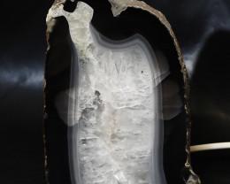 2.10 Kilo Treasures Brazilian Crystal Agate lamp.Free Shipping  CF 533