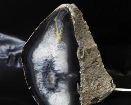 3.15 Kilo Treasures Brazilian Crystal Agate lamp.Free Shipping  CF 345