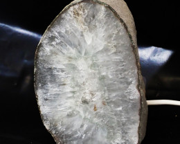 1.80 Kilo Treasures Brazilian Crystal Agate lamp.Free Shipping  CF 537