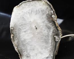 2.10 Kilo Treasures Brazilian Crystal Agate lamp.Free Shipping  CF 538