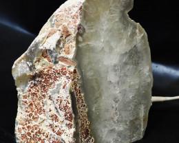 2.00 Kilo Treasures Brazilian Crystal Agate lamp.Free Shipping  CF 542