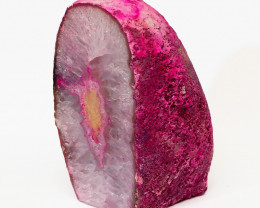 1.70 Kilo Treasures Brazilian  Pink Crystal Agate lamp.Free Shipping  CF 54