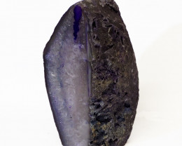 Treasures Brazilian  Purple Crystal Agate Lamp Free Shipping  CF603