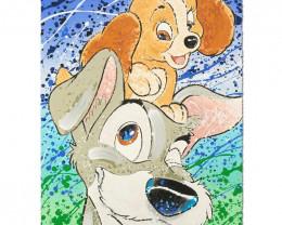 Hair of the Dog. Disney Limited Edition Serigraph by David Willardson