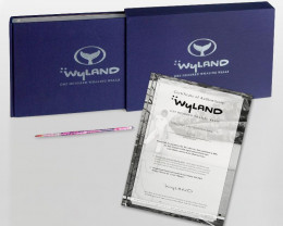 Wyland: 100 Whaling Walls.Includes Certificate of Authenticity.