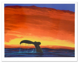 Sounding Seas  Limited Edition Lithograph by Famed Artist Wyland