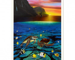 Wyland, Ancient Mariner Limited Edition Lithograph
