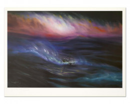 Storm, Limited Edition Lithograph, Numbered and Hand Signed ,Wyland