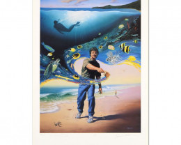 Another Day At the Office, Limited Edition Lithograph, Wyland
