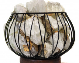 Rough Crystal Rock Relaxing Amore Lamp