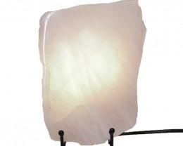 1.75 Kilo Treasures   Sliced Brazilian  Crystal Rose Quartzlamp.  CF 822