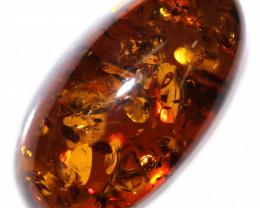 30 Cts  Amber Cabochon Gemstones  AM 1811