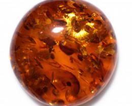 31 Cts  Amber Cabochon Gemstones  AM 1814