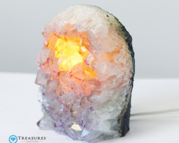 2kg Amethyst Lamp with Hues of Lilac  - O14