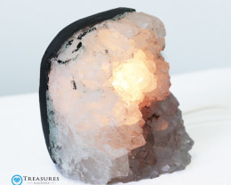 2kg Amethyst Lamp with Hues of Lilac  - O17