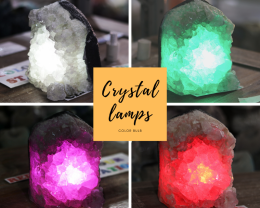 2.90kg Natural Amethyst Crystal Lamp - O21