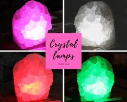 2.35kg Natural Crystal Lamp - O22