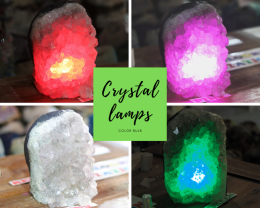 2.75kg Natural Amethyst Crystal Lamp - O23