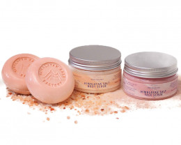 Himalayan Salt Scrub Set – Face and Body