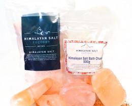 Natures Antibacterial Package – Himalayan Salt Bar/Chunks
