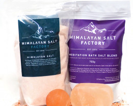 Natures Antibacterial Package – Meditation Bath Salt