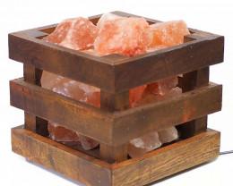 Himalayan Salt Chunk Cubic Lamp (12V -12W)