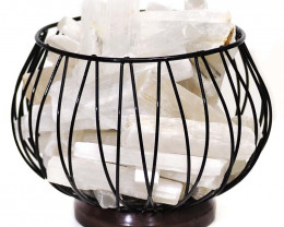 Selenite Crystal Sticks Amore Lamp