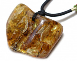 170 Cts Natural  Baltic Amber Necklace AM 1887