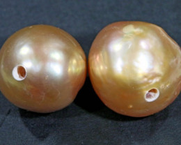10 mm graded high luster pair pearl PP390