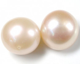 11 mm PAIR A3 GRADE PEARLS 17.7 CARATS   A1662