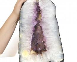 16.45kg Amethyst Crystal Geode Specimen DS74