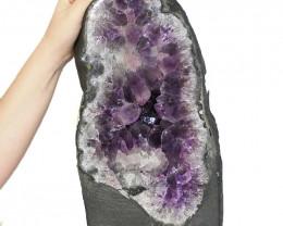 12.55kg Amethyst Crystal Geode Specimen DS76