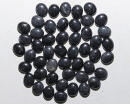 198 Cts parcel 50 BlackHematite Gemstonnes BU 2637