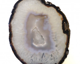 0.63kg Sliced Brazilian Crystal Agate Lamp J42