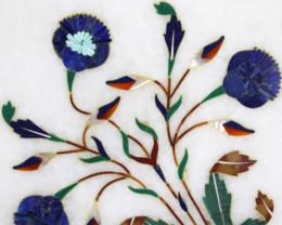 Taj Mahal  White marble gemstone Tops MIG 004