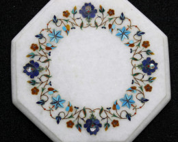 Taj Mahal  White marble gemstone Tops MIG 007