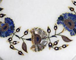 Taj Mahal  White marble gemstone Tops MIG 011