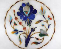 Taj Mahal  White marble gemstone Tops MIG 013