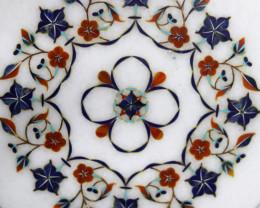 Taj Mahal  White marble gemstone Tops MIG 015